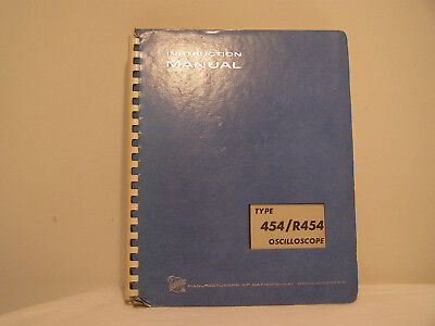 Tektronix Oscilloscope Type 454/R454  Instruction Manual