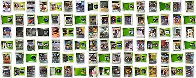 X-BOX Classics / Xbox 360 Video Arcade GAMES - Choose from Variations - All Used