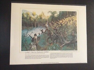 The National Guard Heritage Collectible Print Cuidado Take Care Bushmaster Bolo