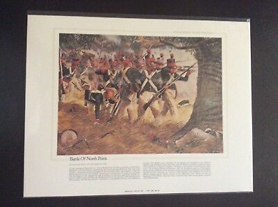 The National Guard Heritage Collectible Print Battle Of North Point 1814