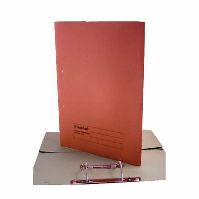 Guildhall Orange Foolscap Heavyweight Pocket Spiral File (Pack of 25) [GH23037]