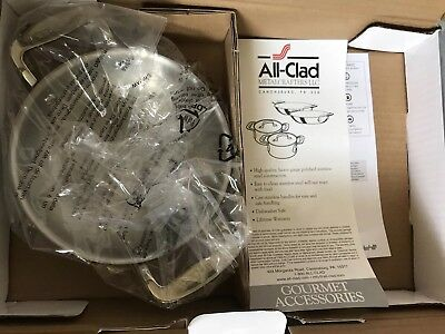 """All-Clad Stainless Steel 6"""" Mini Gratin (1 ONLY) NEW WITHOUT Original Box"""
