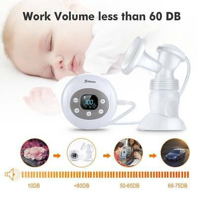 Brillante Electric Full-automatic Breast Pump With Ergonomic horn-like mouth