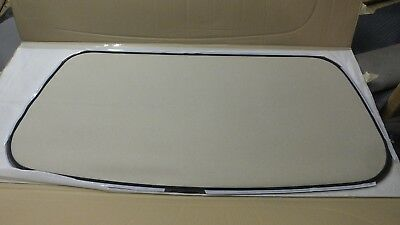 RENAULT MEGANE CABRIOLET CONVERTIBLE CLEAR PLASTIC REAR WINDOW