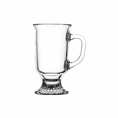 Anchor Hocking 69738 Irish Coffee Mug, 8 oz., Clear