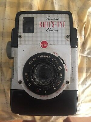 vintage Kodak brownie bulls eye camera not tested