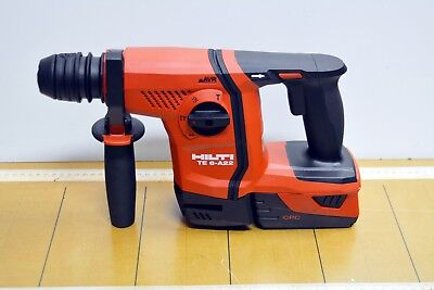 HILTI TE 6 A22 (04) Cordless Rotary Hammer Drill AVR with CPC Battery Brand New