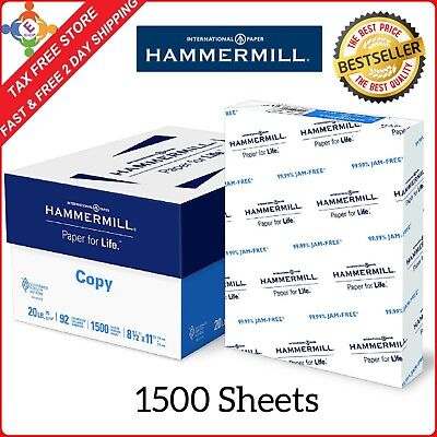 Printer Paper Office Multipurpose Sheets 8.5 x 11 Letter Size Computer White