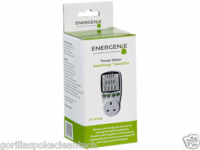Energenie Energy Saving Power Meter - GorillaSpoke for Free P&P EU & UK!