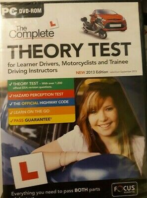 The Complete Driving Theory Test - PC DVD ROM - GorillaSpoke Free P&P Worldwide!