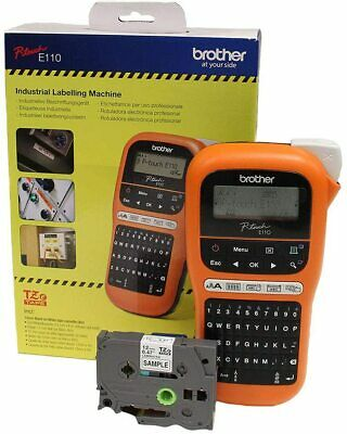 Brother PT-E100 Handheld Label Printer - GorillaSpoke, Free P&P Worldwide!