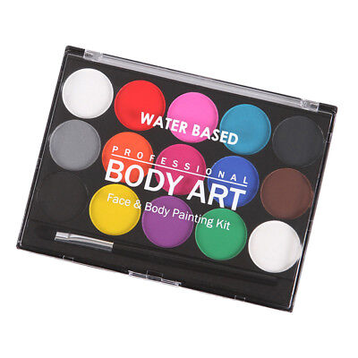 Face Painting for Kids Professional Non-toxic Paint Body Makeup 15 Colors