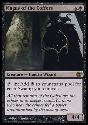 1x MAGUS OF THE COFFERS - Commander/Planar Chaos  MTG - NM - Magic the Gathering