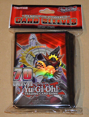 YuGiOh! Card Deck Protectors (70 Small Sleeves) pack Yu-Gi-Oh! Pendulum Powered