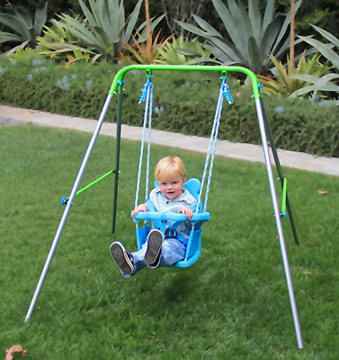 Toddler Swing With Safety Harness For Indoor And Outdoor Play - Kids Fun Toys