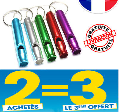 SIFFLET pour CHIEN FORMATION OBEISSANCE ABOIEMENTS - New WHISTLE for DOGS