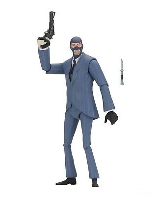"Team Fortress 2 - Series 3.5 - 7"" BLU Spy Action Figure - NECA"