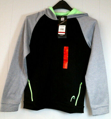 Head Performance Boys Hoodie Size Medium (10/12), Brand New with Tags