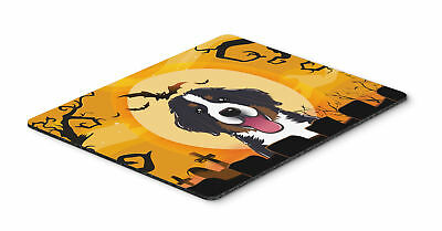 Halloween Bernese Mountain Dog Mouse Pad, Hot Pad or Trivet