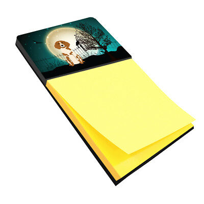 Halloween Scary Brittany Spaniel Sticky Note Holder