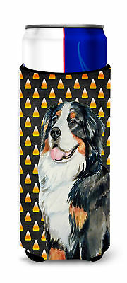 Bernese Mountain Dog Candy Corn Halloween Portrait Ultra Beverage Insulators for