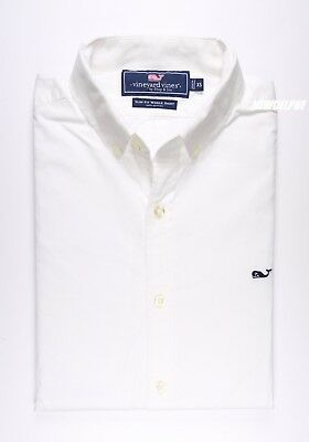 Nwt Vineyard Vines Men Ls Slim Fit Whale Shirt Xs S M L Xl 2Xl Msrp $98.50