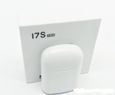 i7s TWS Wireless Bluetooth EarPods Earbuds for iPhone Samsung with Charging Box