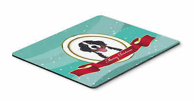 Bernese Mountain Dog Merry Christmas Mouse Pad, Hot Pad or Trivet