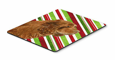 Sussex Spaniel Candy Cane Holiday Christmas Mouse Pad, Hot Pad or Trivet