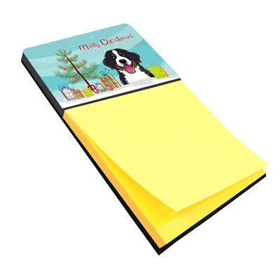 Christmas Tree and Bernese Mountain Dog Sticky Note Holder