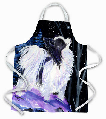 Carolines Treasures  SS8383APRON Starry Night Papillon Apron