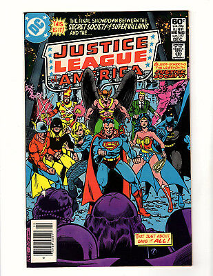 Justice League of America #197 (1981 DC) VF JSA Secret Society of Super-Villains