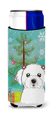 Christmas Tree and Maltese Ultra Beverage Insulators for slim cans