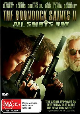 The Boondock Saints 2 All Saints DVD Region 4 NEW