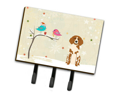 Christmas Presents between Friends Brittany Spaniel Leash or Key Holder