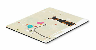 Christmas Presents between Friends Manchester Terrier Mouse Pad, Hot Pad or Triv