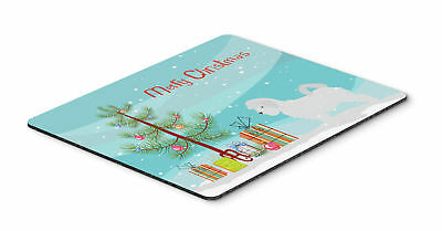 Maltese Merry Christmas Tree Mouse Pad, Hot Pad or Trivet