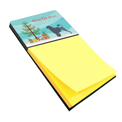 Portuguese Water Dog Merry Christmas Tree Sticky Note Holder
