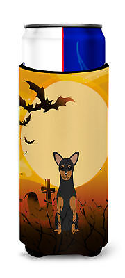 Halloween Manchester Terrier Michelob Ultra Hugger for slim cans