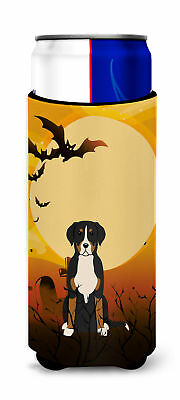 Halloween Greater Swiss Mountain Dog Michelob Ultra Hugger for slim cans