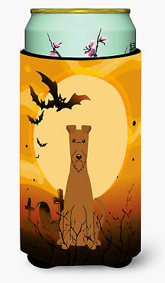 Halloween Irish Terrier Tall Boy Beverage Insulator Hugger