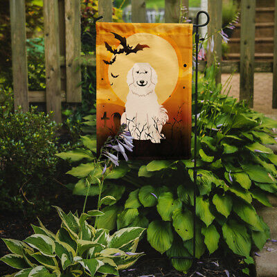 Carolines Treasures  BB4349GF Halloween Great Pyrenese Flag Garden Size