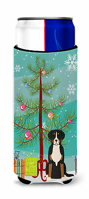 Merry Christmas Tree Greater Swiss Mountain Dog Michelob Ultra Hugger for slim c