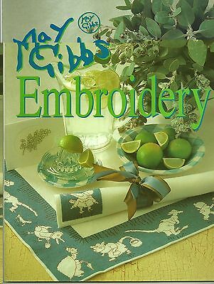Vintage Embroidery Book - May Gibbs Embroidery - Gum Nut Babies