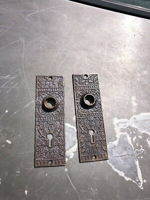 2) Antique Metal Keyholes