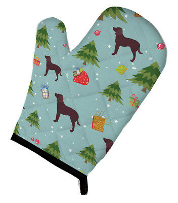 Carolines Treasures  BB4825OVMT Christmas American Water Spaniel Oven Mitt