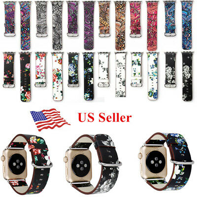 Designer Replacement Watch Straps For Apple iWatch Series 1 38mm/42mm