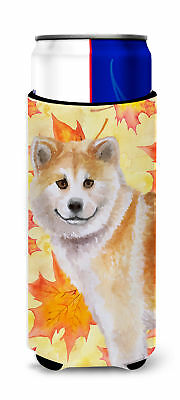 Shiba Inu Fall Michelob Ultra Hugger for slim cans