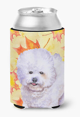 Carolines Treasures  BB9909CC Bichon Frise Fall Can or Bottle Hugger