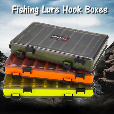 Double Sided Fishing Lure Box Tackle Fishing Lure Egi Squid Jig Pesca Accessorie